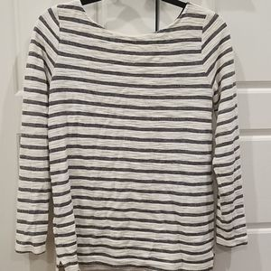 Lou & grey striped long sleeve pullover